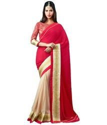 Party wear Fancy Saree, With Blouse Piece