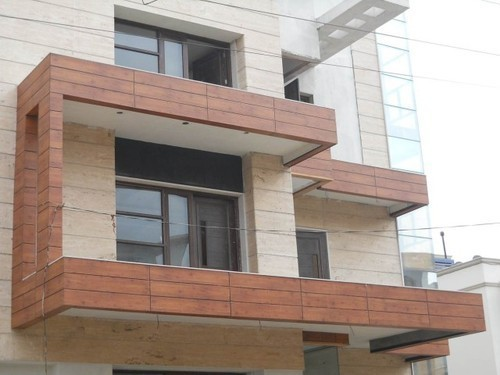 Exterior Wall Cladding at Rs 650 /square feet | Wall Cladding | ID ...