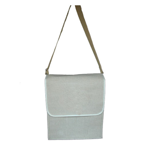 Cream ISPL Ladies Side Jute Bag