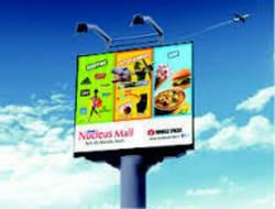 Advertising Pole Banner Printing Service