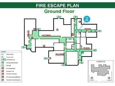 Fire Escape Route Plan - View Specifications & Details of