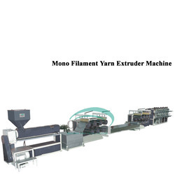 Mono Filament Yarn Extruder Machine