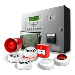 Plastic White Fire Alarm System
