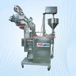 FOR-BRO接触件SS304自动粘贴灌装机,容量:10-200GM,0.5 HP / 1HP