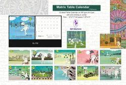 Matrix Table Calendars