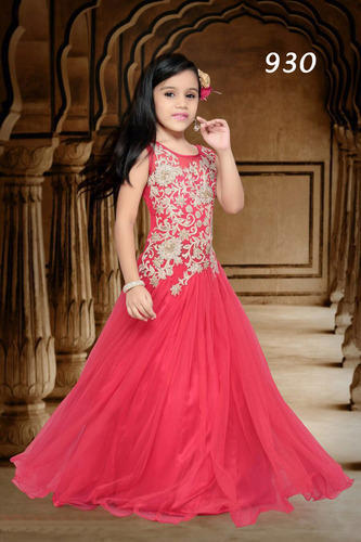 3dacc5dbf Girls Net Fancy Designer Gowns