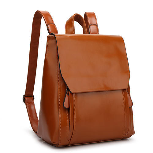 8196d27932 Fancy Leather Backpack at Rs 1000  piece(s)