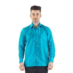 Scot Wilson Pure Silk Plain Silk Shirt