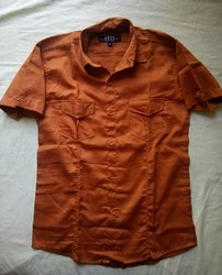 AVES Blue and Brown Shirt (plain, Check Or Printed)