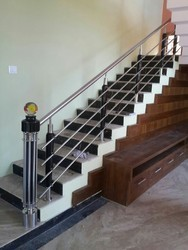 SS Wooden Railings