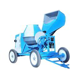 Concrete Mixture Machine with Hopper