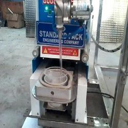 Automatic Plastic Cup Filling & Sealing Machine