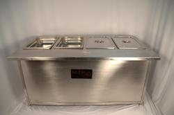 Gnpnan Bain Marie With Cabinet / Table Top