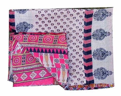 Vintage Handmade Kantha Quilts Gudari, Vintage Handmade Kantha ... : indian sari quilts - Adamdwight.com
