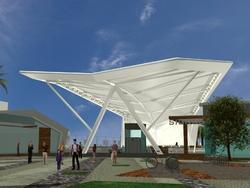 Membrane Roofing Tensile Structures