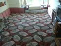 Burhani Furnishings Brown Printed Wall To Wall Carpet, For Floor, Size/dimension: 4mtr By 25mtr