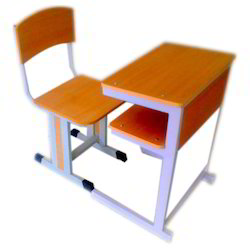 Table with chair for higher class students