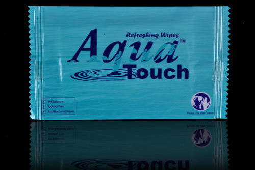 Aqua Touch Single Wipes, Pack Size: 150 x160 mm