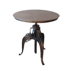 Cast Iron Crank Table