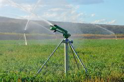 Irrigation Gun Stand