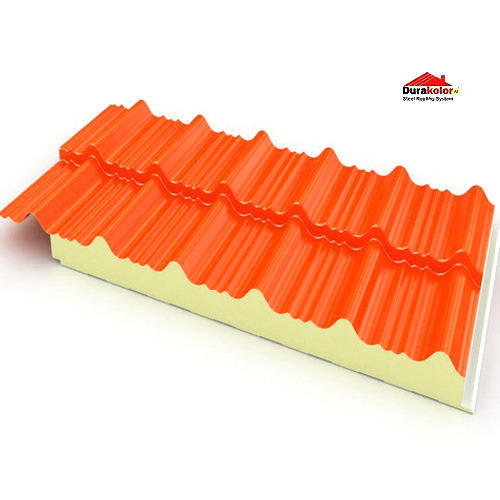 Insulated Roof Panels At Rs 1200 Piece Puf Insulated Roofing Sheets Id 7299783012