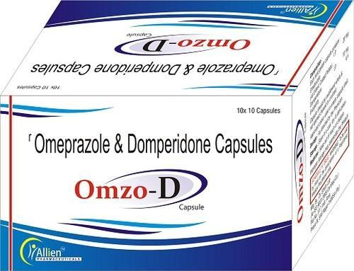 Omeprazole 20mg Domperidone 10mg (Omzo-D) Capsules, dr edwin lab, Treatment: Gastric Problam