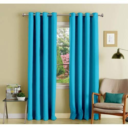 Polyester Blackout Long Door Curtain