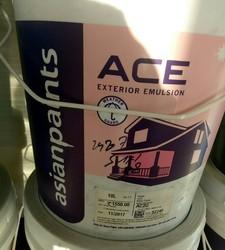 Asian Paints White Ace Exterior Emulsion Paint Rs 2600 Bottle Mathaji Stores Id 18089037791