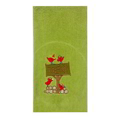 Cotton Embroidery Dish Towel