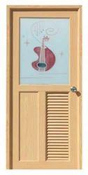 Sliding Glossy PVC Designer Doors, For Residential & Commercial