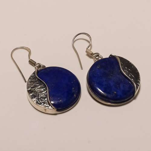 Sterling Silver Lapis Earring 10 5 Packaging Type Box