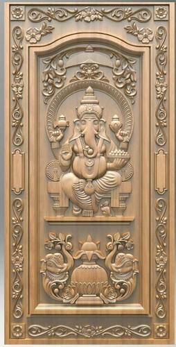 Cnc Teak Wood Carving Door at Rs 1750 /feet | Teak Wood Carving Door ...