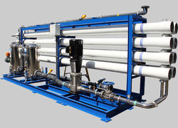 Hydro Press Industry Carbon Steel and Stainless Steel Water Filtration Plant