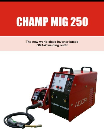 Three Phase Semi-Automatic Ador MIG Welding Machine