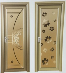 Bathroom Doors aluminium door - aluminum bathroom toughened glass door