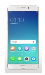 Oppo F1 Plus Gold Mobile Phone