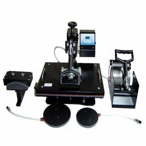 5 In 1 Heat Press Printing Machine