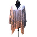 Merino Wool Embroidery Poncho