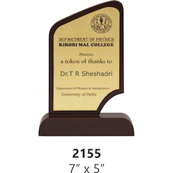Different Size Wooden Trophy