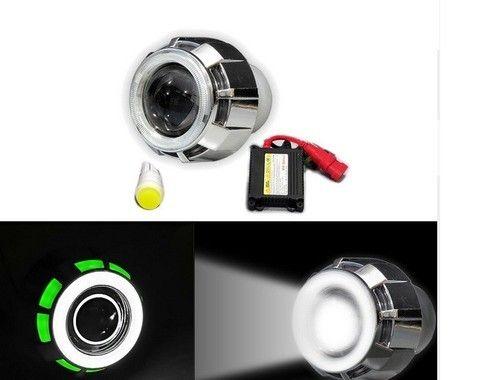 Speedwav H4 Projector HID Kit WHITE+Twin Color Angel Eye-Honda ...