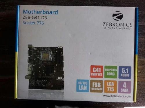 G 41 Zebronics Motherboard