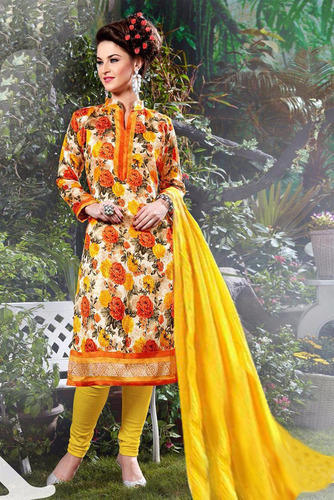Printed Formal Wear Salwar Suit, Size: L