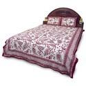 Jaipuri Print Double Bed Sheet Set 355