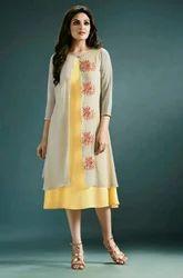 Indo Western Stylish Designer Tunic Kurti