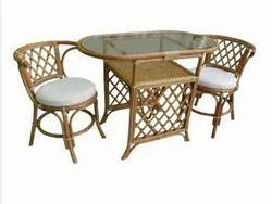 2 Chair 1 Table With Cushoin