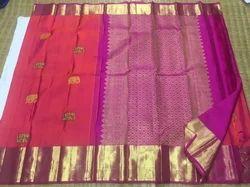 Fancy Kanchipuram Silk Saree