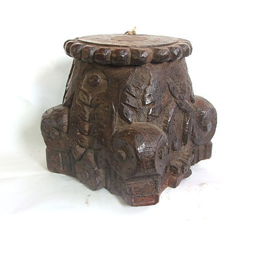 Wooden Capitals Wooden Capital Exporter From Mumbai