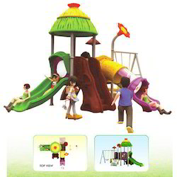 Play Ground Equipments Tree House Play Yard
