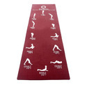 Sun Salutation Yoga Mat
