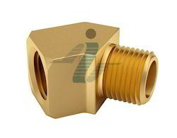 Brass 45 Degree M/F Street Elbow - Extruded